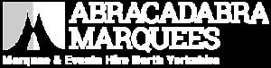 abracadabra marquees logo - marquee hire