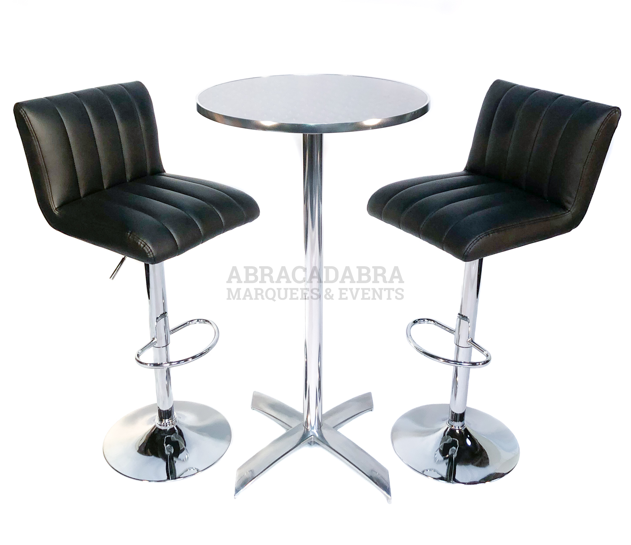 Poseur Table & Bar Stool Package