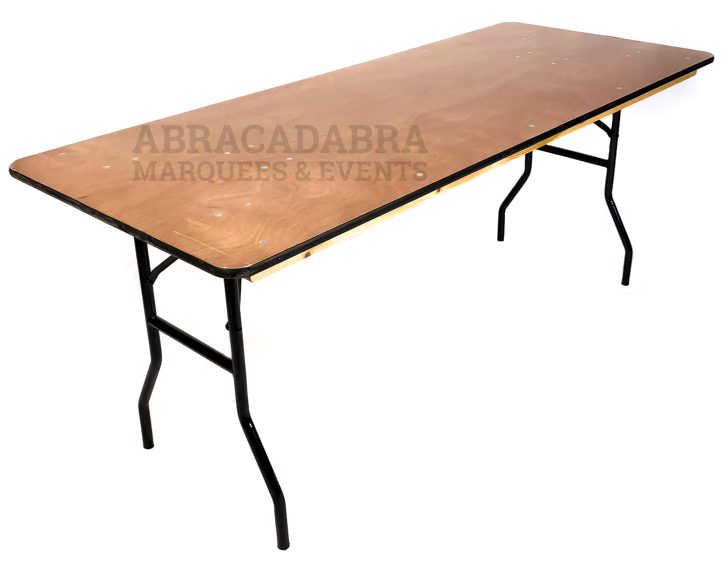 6ft X 2ft 6″ Trestle Table